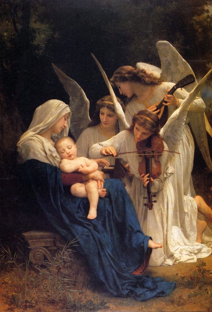 Bouguereau song of angles